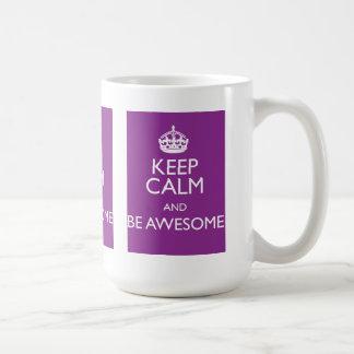 KEEP CALM AND BE AWESOME COFFEE MUG