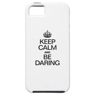 KEEP CALM AND BE DARING iPhone SE/5/5s CASE