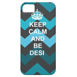 Keep calm and Be Desi iphone case iPhone 5 Case