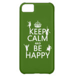 Keep Calm and Be Happy (dance) (customizable) iPhone 5C Covers