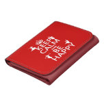 Keep Calm and Be Happy (dance) (customizable) Wallet