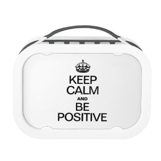 KEEP CALM AND BE POSITIVE REPLACEMENT PLATE