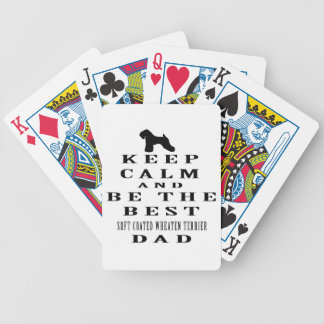Keep Calm And Be The Best Soft Coated Wheaten Deck Of Cards