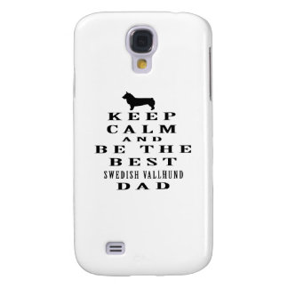 Keep Calm And Be The Best Swedish Vallhund Dad HTC Vivid Cover