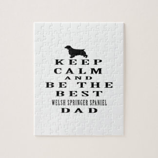 Keep Calm And Be The Best Welsh Springer Spaniel Puzzles