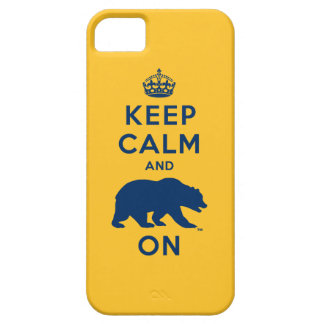 Keep Calm and Bear On iPhone 5 Covers