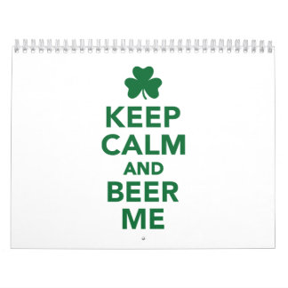 Keep calm and beer me wall calendar