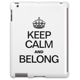 KEEP CALM AND BELONG
