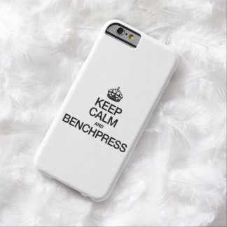 KEEP CALM AND BENCHPRESS.ai Barely There iPhone 6 Case