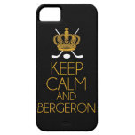 Keep Calm and Bergeron iPhone 5/5S Cover