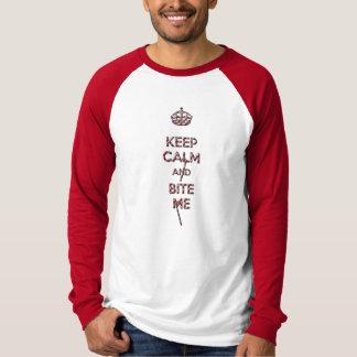Keep Calm and Bite me Christmas edition T-shirt