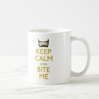 keep calm and bite me (net) mug