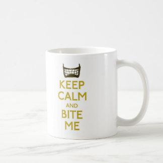 keep calm and bite me (net) mug