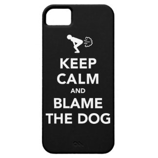 Keep Calm and Blame The Dog iPhone SE/5/5s Case