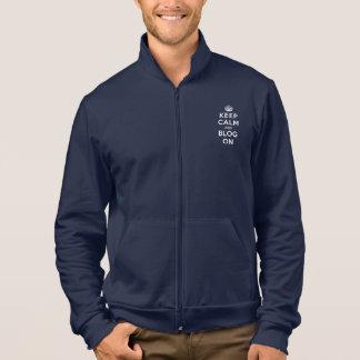 Keep Calm and Blog On Jacket