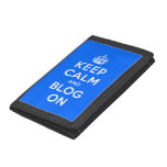 Keep Calm and Blog On Wallet