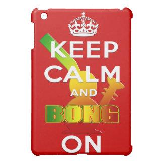 Keep Calm and Bong On Reggae Rasta Bong iPad Mini Covers