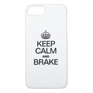 KEEP CALM AND BRAKE iPhone 8/7 CASE