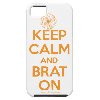 Keep Calm and Brat On: Tablet and Phone Covers iPhone 5 Cover