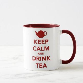Keep Calm and Brew a Cuppa Mug