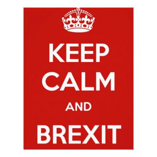 Keep Calm and Brexit Letterhead