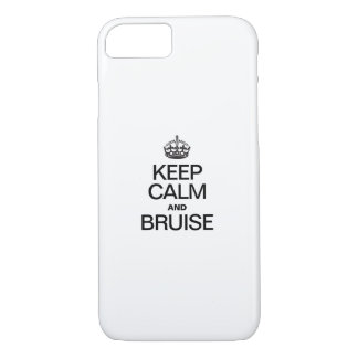 KEEP CALM AND BRUISE iPhone 7 CASE
