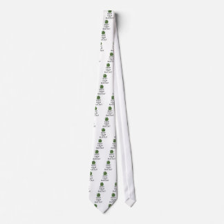 Keep Calm And Bug Out Tie