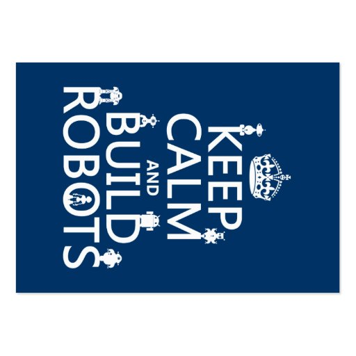 Robotics Business Card Templates Bizcardstudio