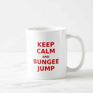Keep Calm and Bungee Jump Coffee Mug