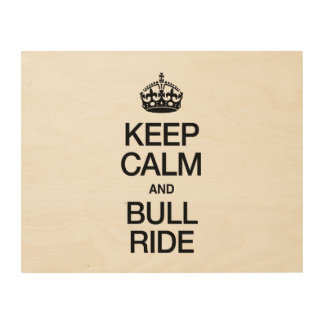 KEEP CALM AND BUNGEE JUMP WOOD CANVASES