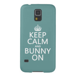 Keep Calm and Bunny On Case-Mate Barely There Samsung Galaxy S5 Case