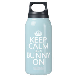 Keep Calm and Bunny On SIGG Thermo Bottle (0.5L)