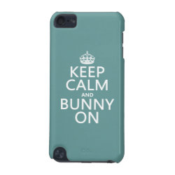 Keep Calm and Bunny On Case-Mate Barely There 5th Generation iPod Touch Case