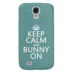 Keep Calm and Bunny On Case-Mate Barely There Samsung Galaxy S4 Case