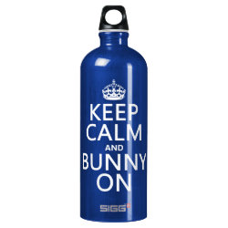 SIGG Traveller Water Bottle (0.6L) with Keep Calm and Bunny On design