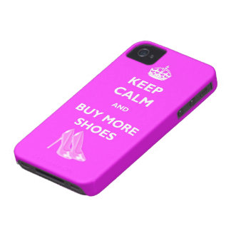 Keep Calm And Buy New Shoes Blackberry Case