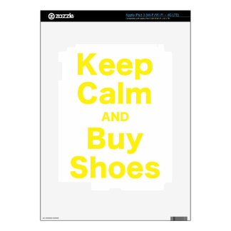 Keep Calm and Buy Shoes iPad 3 Skin
