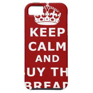Keep calm and buy the bread - Compra el pan iPhone 5 Carcasa
