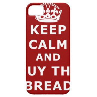 Keep calm and buy the bread - Compra el pan iPhone 5 Funda
