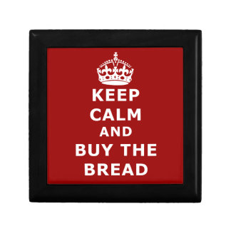 Keep calm and buy the you annoy - Purchase the bre Jewelry Box
