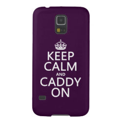 Case-Mate Barely There Samsung Galaxy S5 Case with Keep Calm and Caddy On design