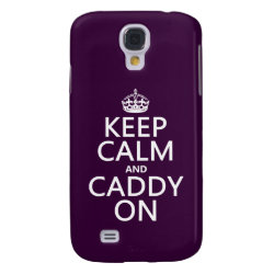Case-Mate Barely There Samsung Galaxy S4 Case with Keep Calm and Caddy On design