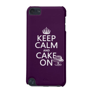 Keep Calm and Cake On iPod Touch (5th Generation) Case