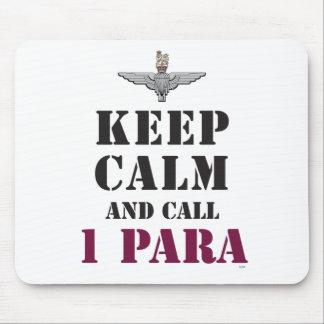 KEEP CALM AND CALL 1 PARA MOUSE PAD