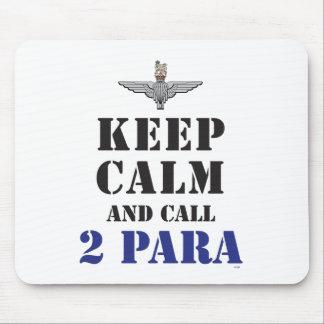 KEEP CALM AND CALL 2 PARA MOUSE PAD