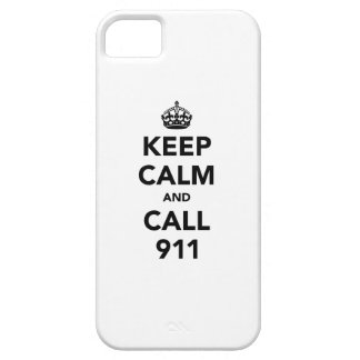 Keep Calm and Call 911 iPhone 5 Case