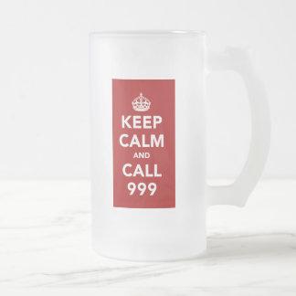 Keep Calm and Call 999 Mugs
