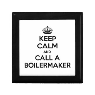 Keep Calm and Call a Boilermaker Trinket Boxes