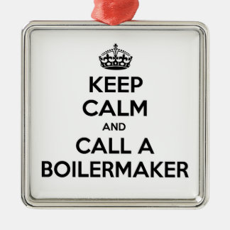 Keep Calm and Call a Boilermaker Ornament