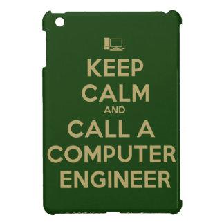 Keep Calm and Call a Computer Engineer iPad Case